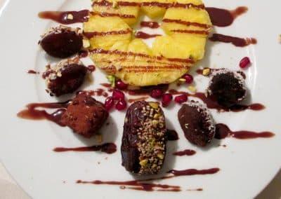 Dattel-Aprikosen-Dessert