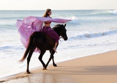 Schweben-zu-Pferd